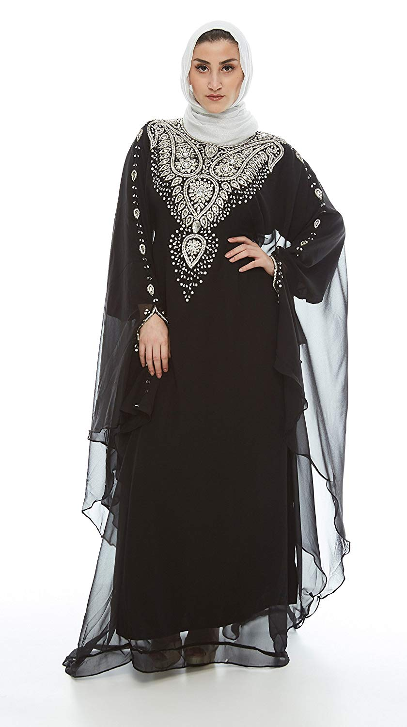 cb43e48d456 Kaftan Maxi Dress Evening Gowns
